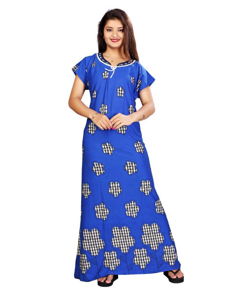 MAHAARANI Hosiery Nighty & Night Gowns