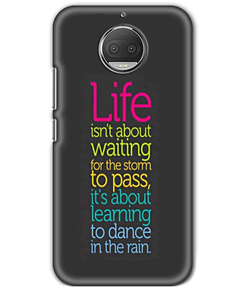 Motorola Moto G5S Plus Printed Cover By SWAGMYCASE