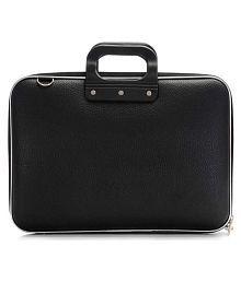 Cosykart Slim Style Black Leather Briefcase