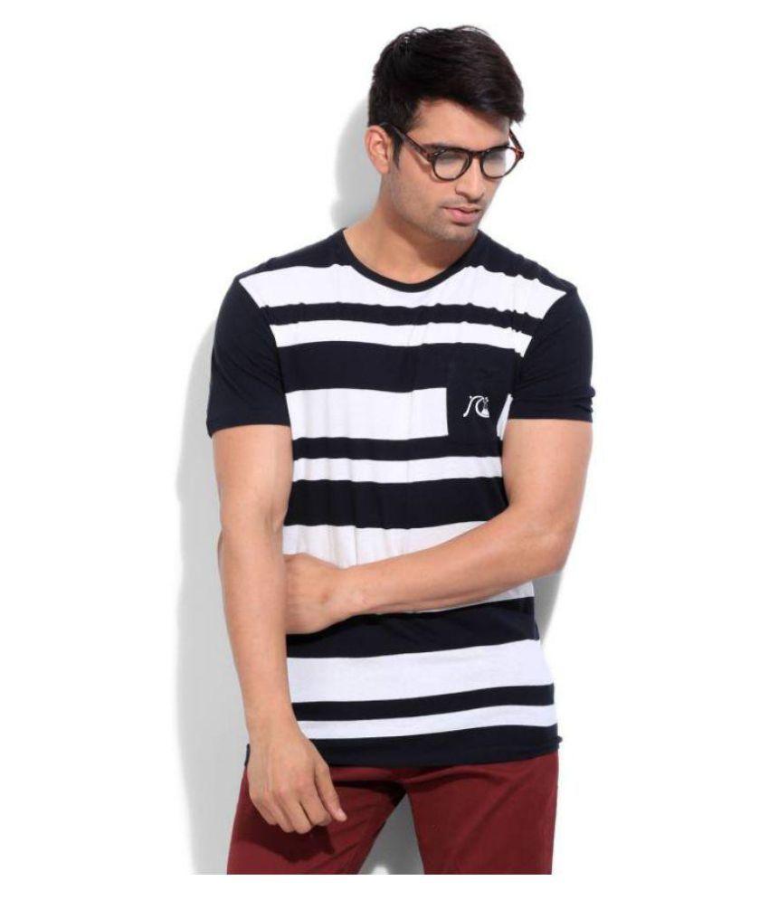 Quiksilver Black Round T-Shirt