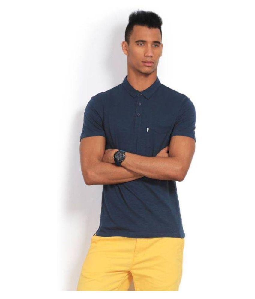 Levi's Blue Henley T-Shirt