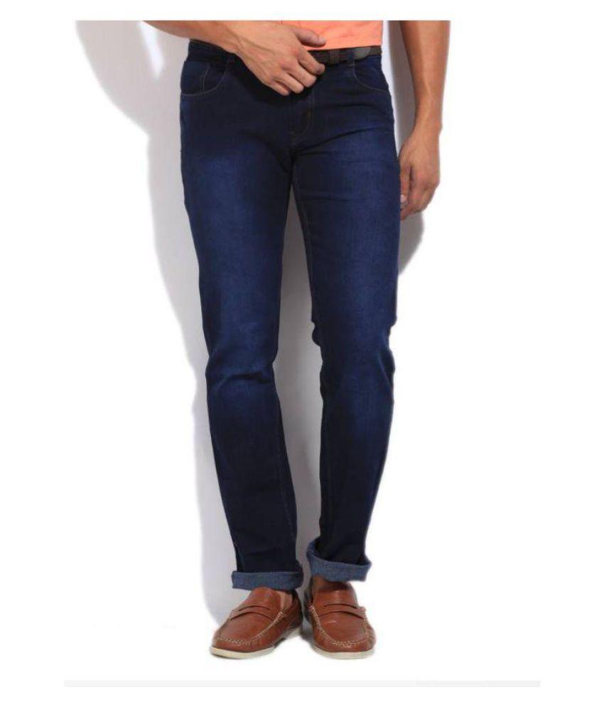 High Star Dark Blue Slim Jeans