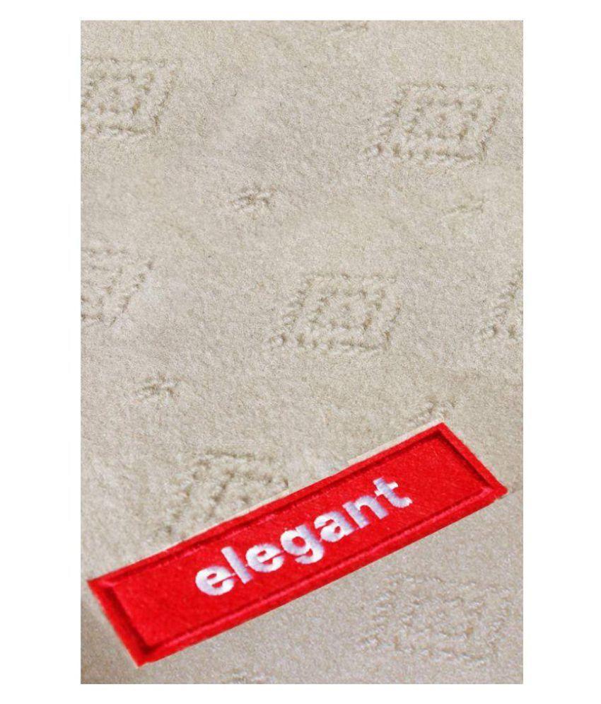 Elegant 2d Synthetic Car Foot Mats Set Of 5 Buy Elegant 2d