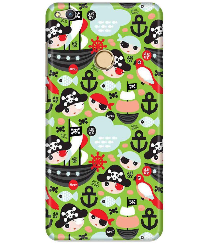 Huawei Honor 8 Lite Printed Cover By LOL