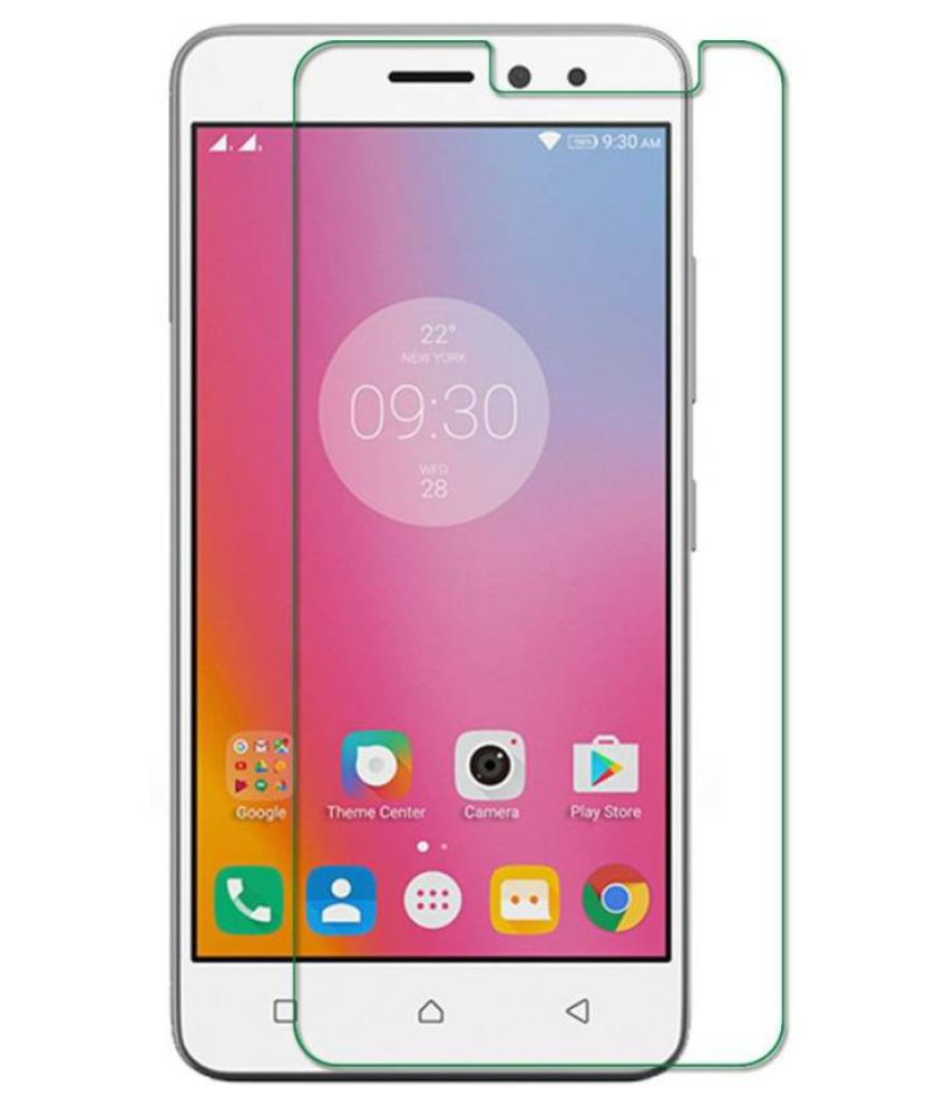 Lenovo K6 Power Tempered Glass Screen Guard By Robux 4D