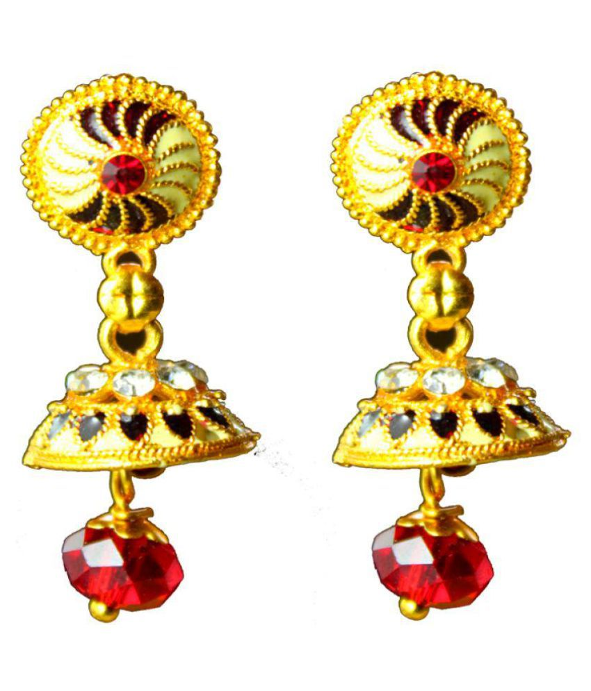 New Model Multicolor Traditional Drop Earring