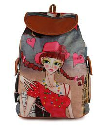 VIEW BAGS Multicolour Girls Backpack