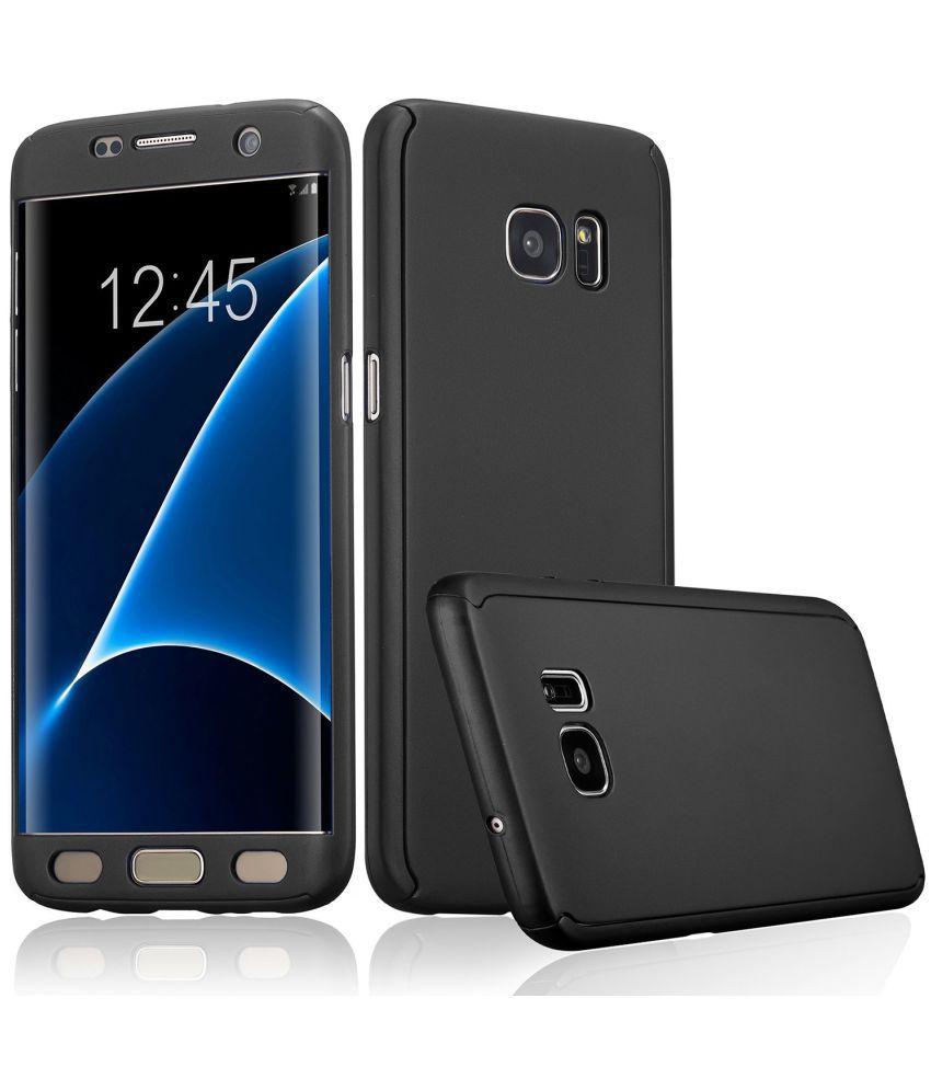 quality design b0ac9 70f45 Samsung Galaxy C7 pro Plain Cases Tidel - Black