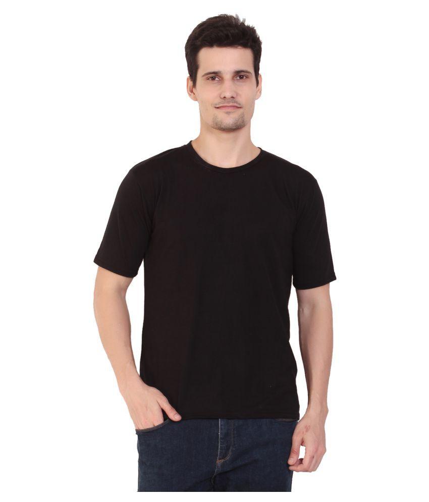 COFAGIF Black Round T-Shirt