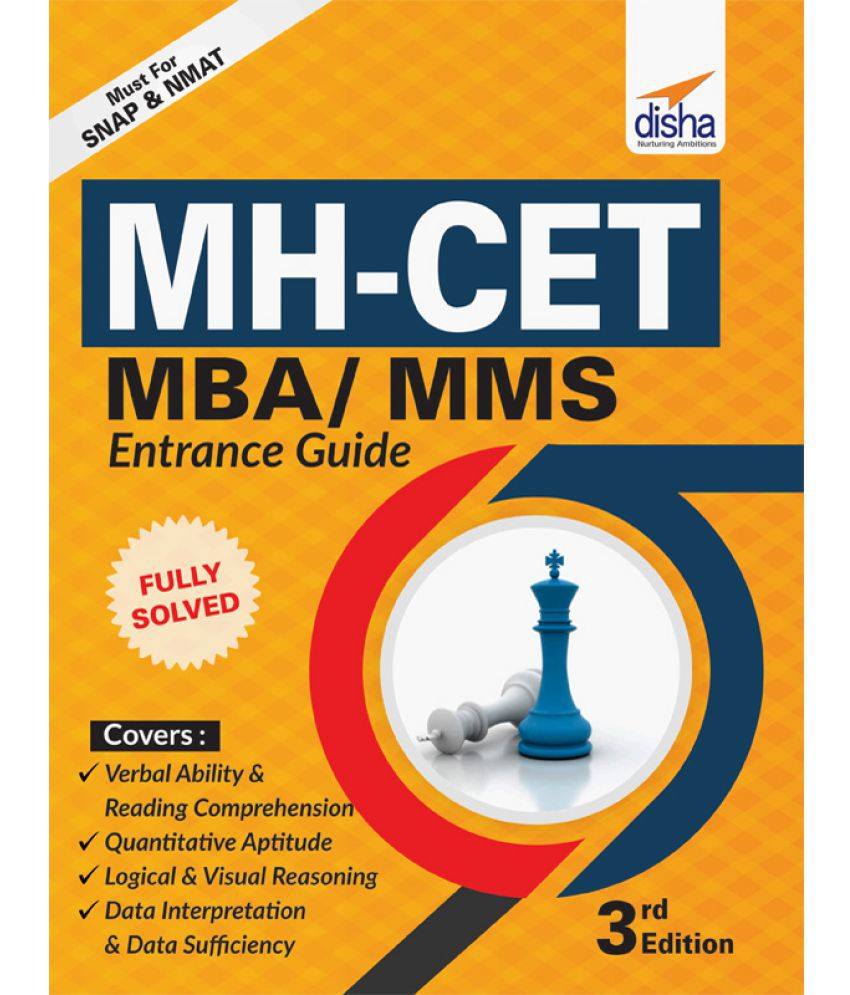 MH-CET (MBA/ MMS) Entrance Guide (must for NMAT & SNAP) - 3rd Edition