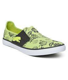 Puma Green Casual Shoes