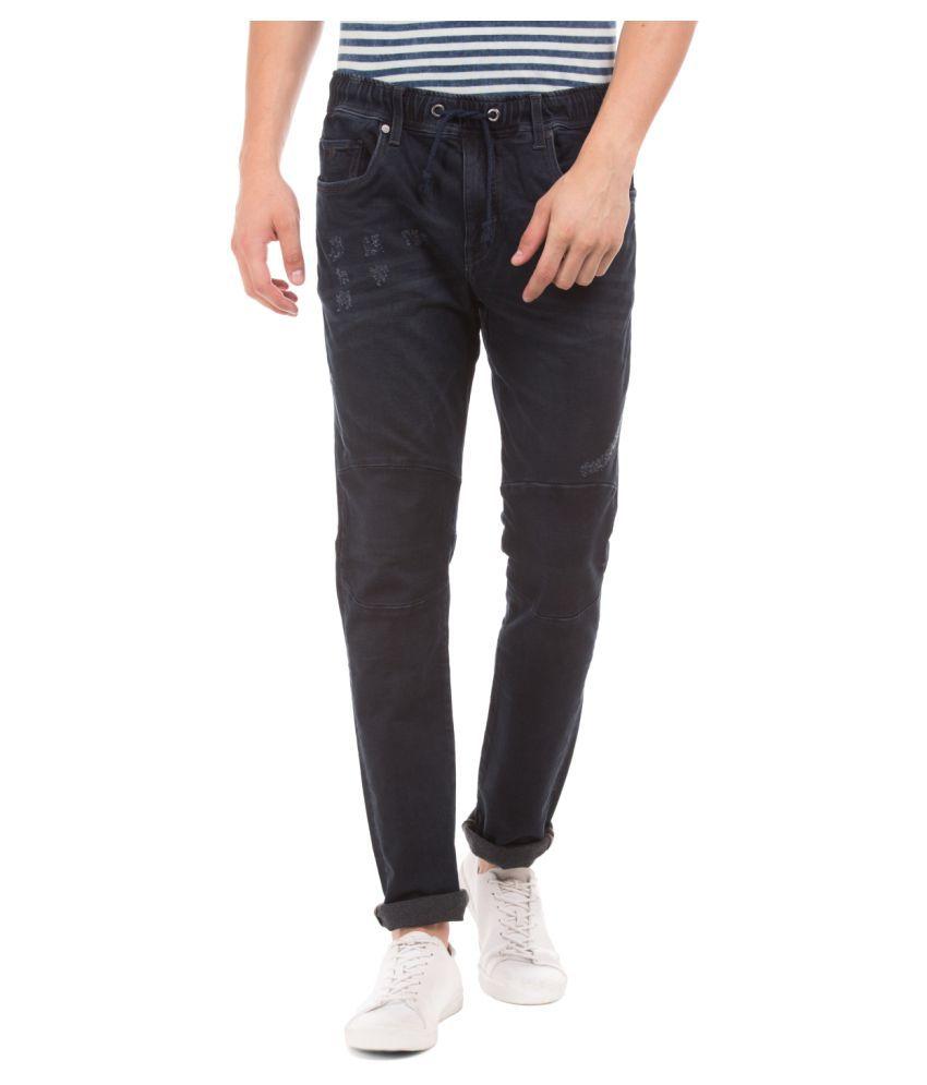 Ed Hardy Dark Blue Slim Jeans