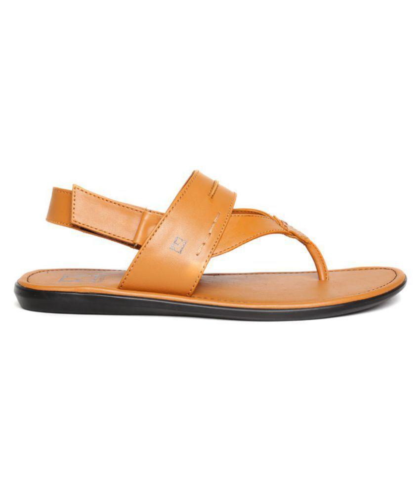 ac49d92c8ac4 FRANCO LEONE 9555 Tan Sandals Price in India- Buy FRANCO LEONE 9555 ...