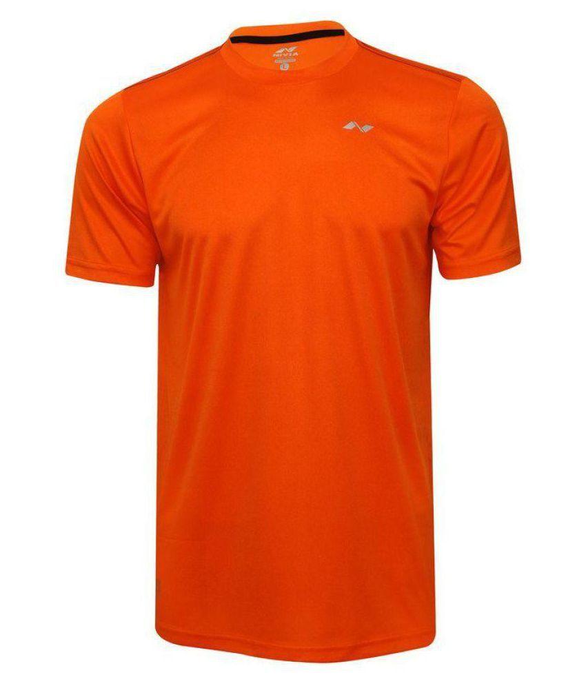 Nivia Orange Polyester Jersey-2205S2