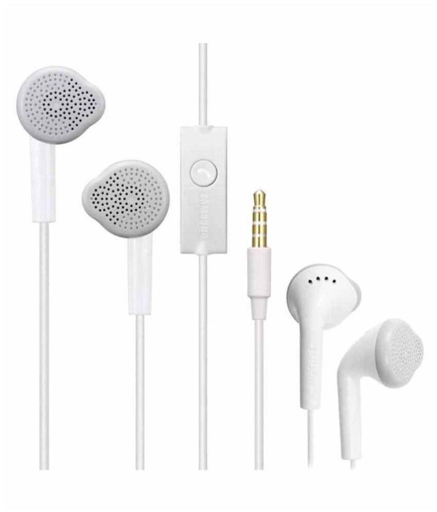 Samsung Galaxy J3 Ear Buds Wired Earphones With Mic