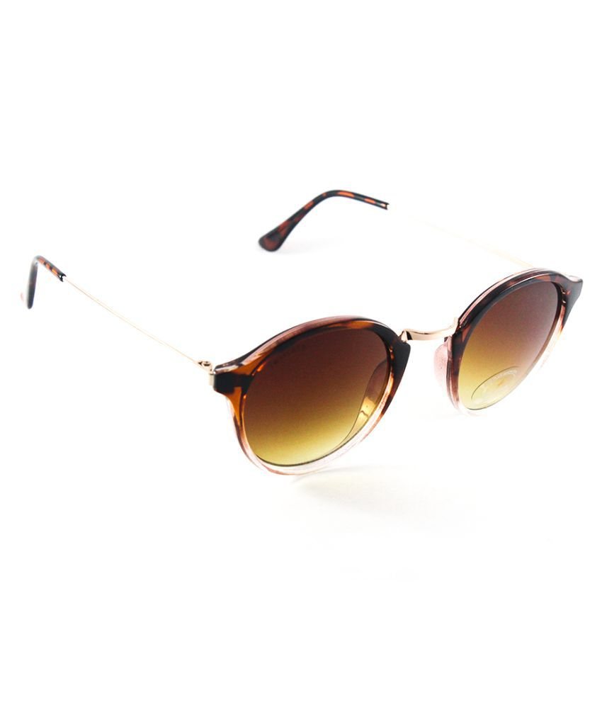 ee0cf4048e Fastrack Brown Oval Sunglasses ( C085BR2F ) - Buy Fastrack Brown Oval  Sunglasses ( C085BR2F ) Online at Low Price - Snapdeal