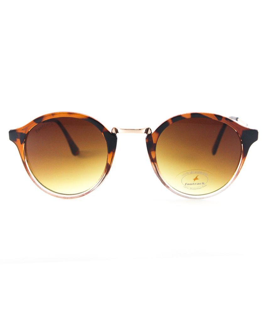 1f0d35615c Fastrack Brown Oval Sunglasses ( C085BR2F ) - Buy Fastrack Brown ...