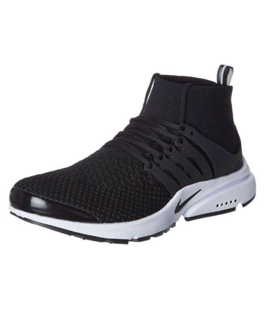 4ce170de57d0 Nike Air Presto Flyknit Black Running Shoes - Buy Nike Air Presto ...