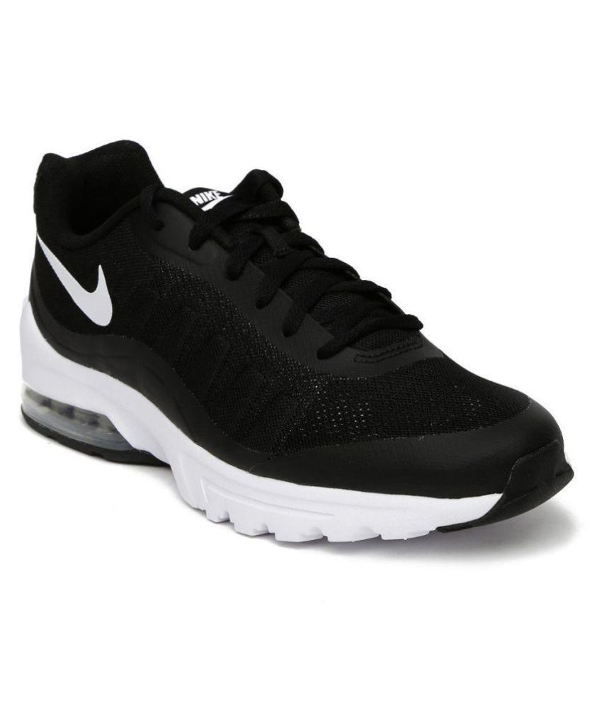 70802df800 Nike Men Air Max Invigor Black Running Shoes - Buy Nike Men Air Max Invigor  Black Running Shoes Online at Best Prices in India on Snapdeal
