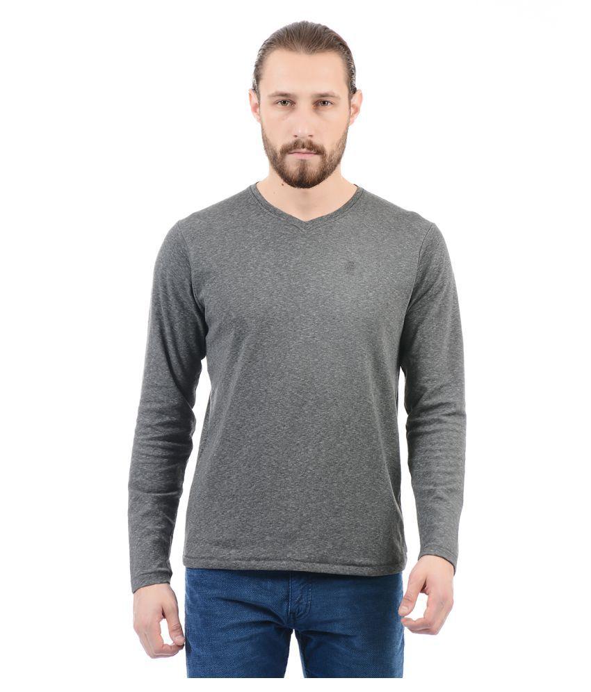 Pepe Jeans Grey V-Neck T-Shirt