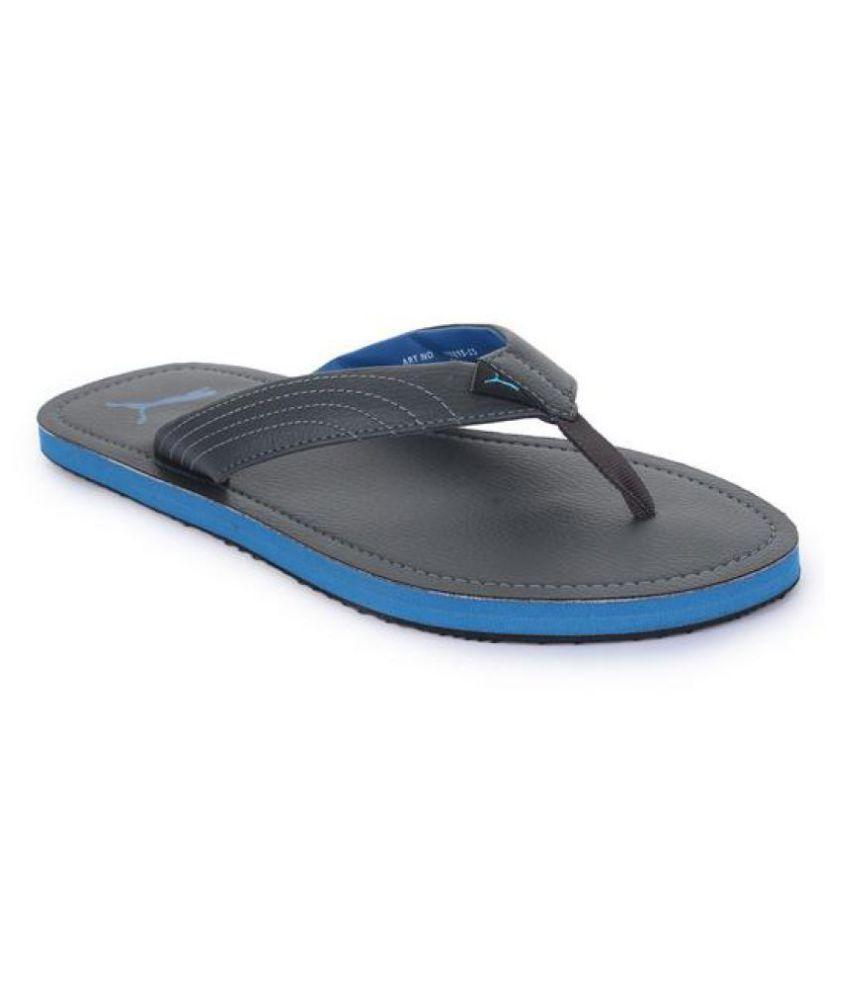 8ea1e8e839b87f Puma Ketava III DP Gray Thong Flip Flop Price in India- Buy Puma Ketava III DP  Gray Thong Flip Flop Online at Snapdeal