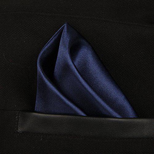 1d18582c493e4 ... Verceys Premium Mens Solid Mixed Color Micro Fibre Silk Satin Pocket  Square Wedding Handkerchiefs. Hover to zoom