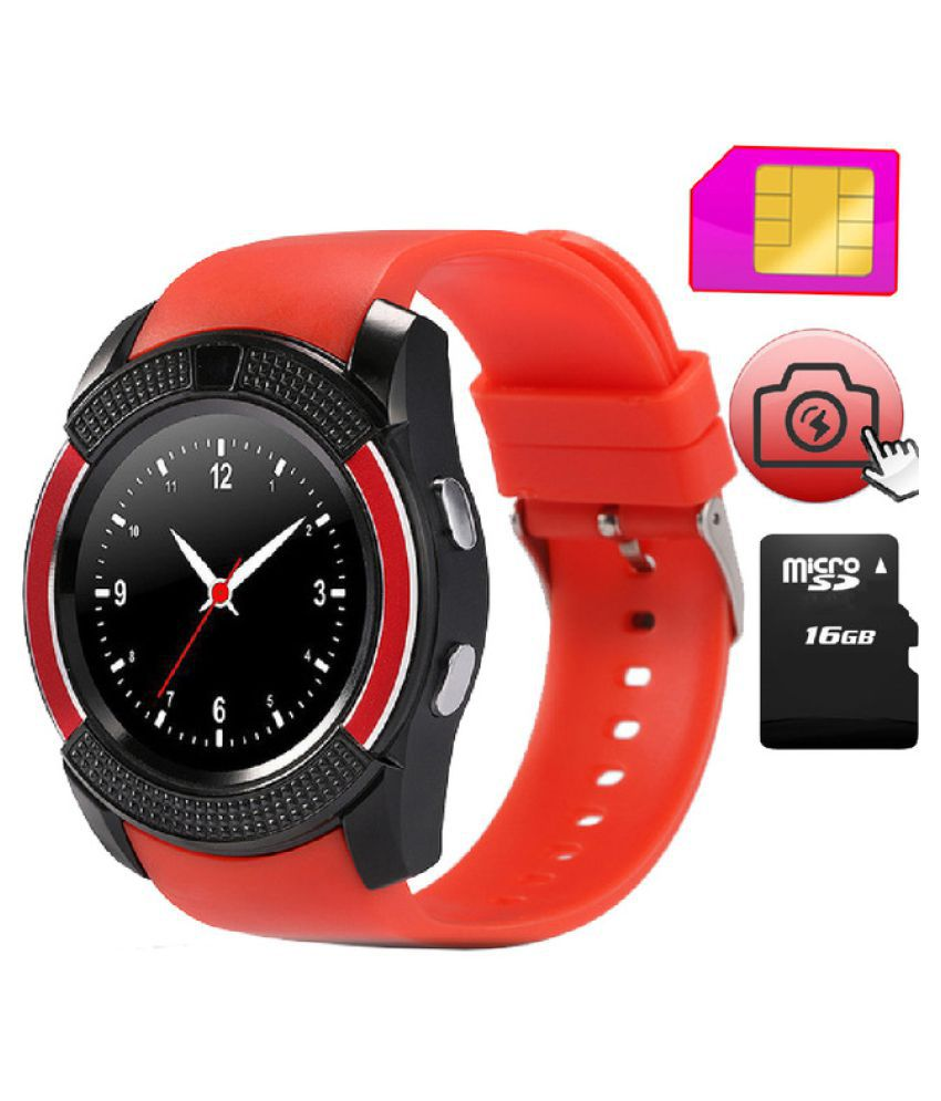 M-STARK V9 Smartwatch suitable  for iPhone 5 Smart Watches