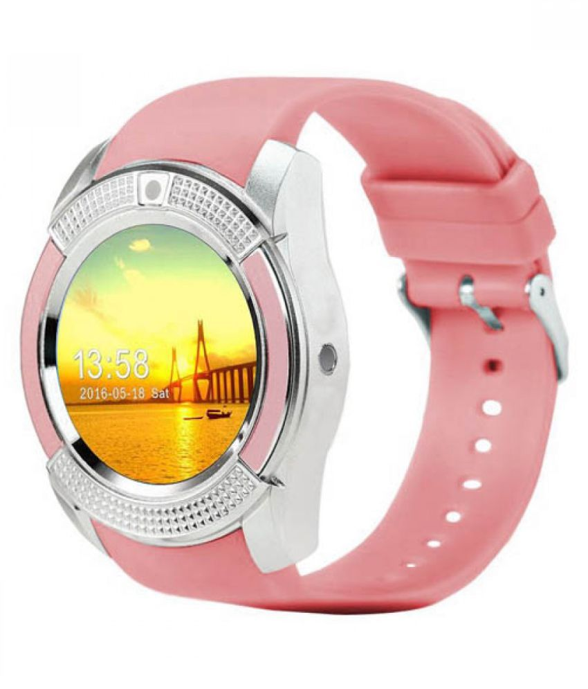 Mobilefit V9 Smartwatch suitable  for Moto X Play Smart Watches