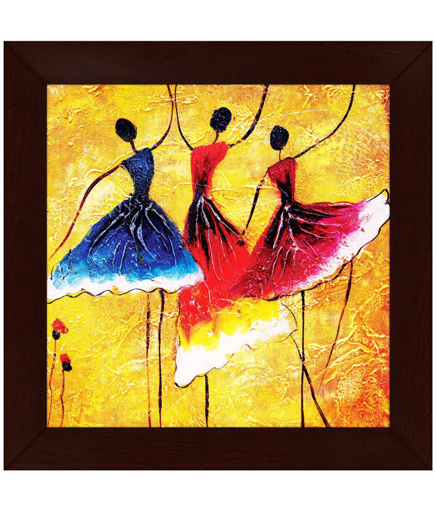 Story@Home Wood Painting With Frame: Buy Story@Home Wood Painting ...