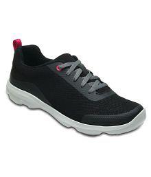 Crocs Black Running Shoes