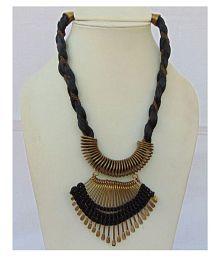 Foot Planet Multicolor Metal Artificial Women's Necklace