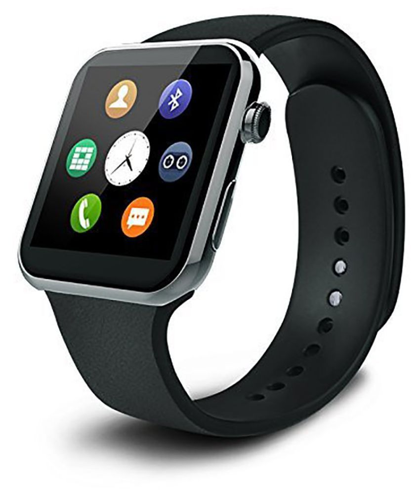 Mobile Link A9 Smartwatch suitable  for Galaxy J5 Smart Watches