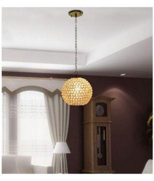 gig aluminium round hanging lamp pendant multi pack of 1