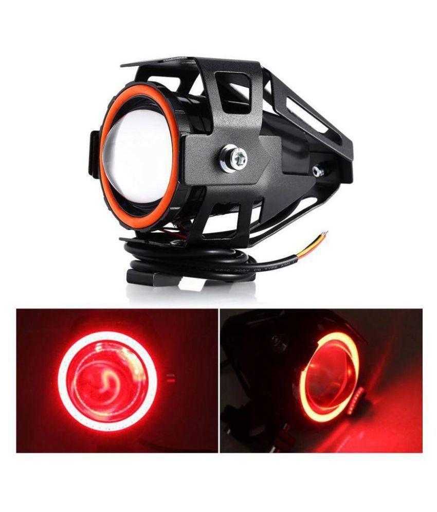 Allextreme U7 Led Fog Light Bike Driving Drl Fog Light Spotlight
