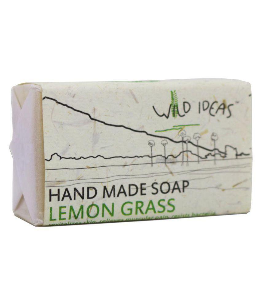 Wild Ideas Lemongrass- 100% Natural and Organic Soap 100 gms gm