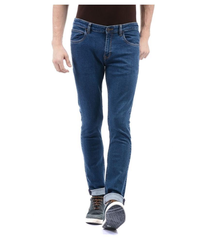 Arrow Blue Jean Blue Slim Jeans