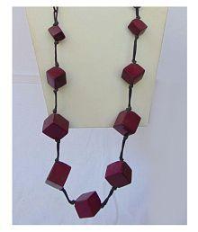 Foot Planet Multicolor Ceremic Artificial Women's Necklace