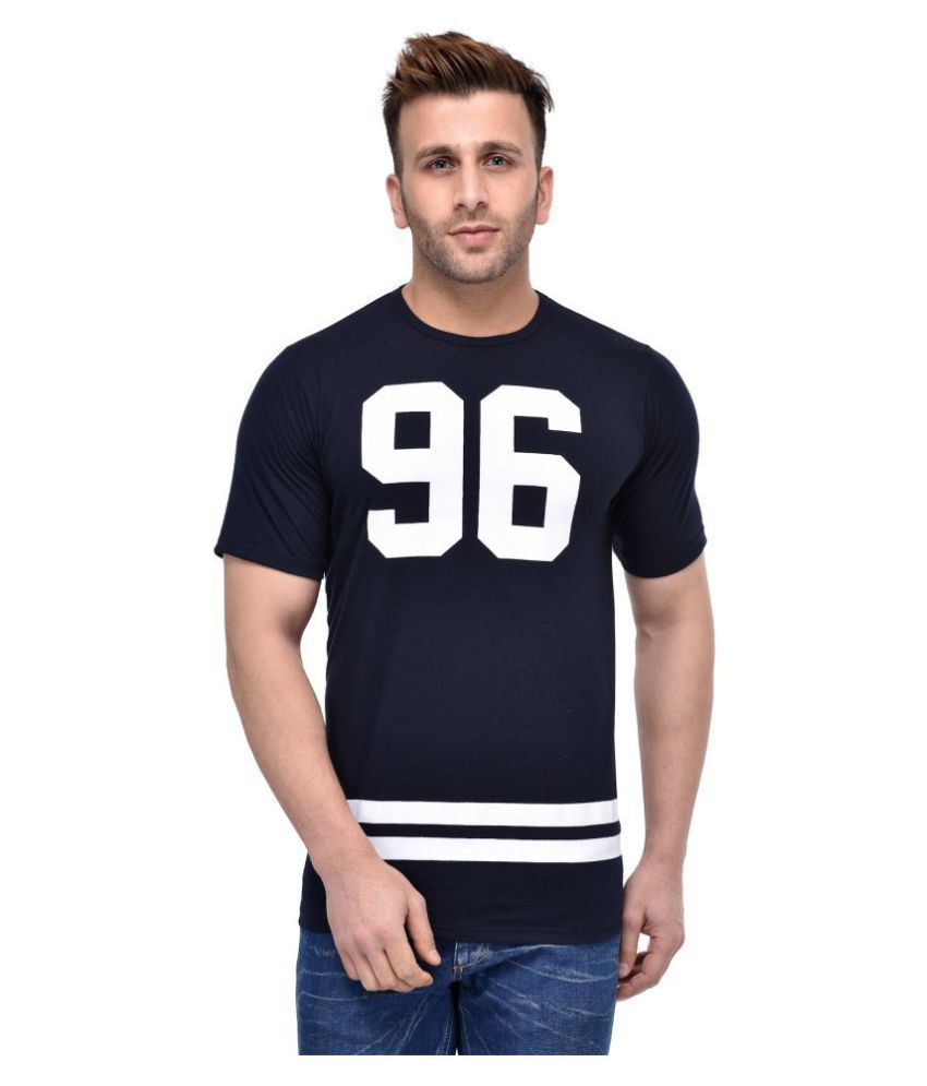 Lee zone Navy Cotton T-Shirt