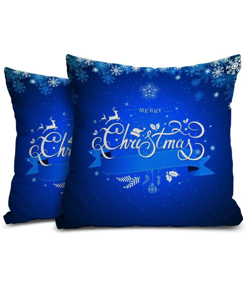 Mukesh Handicrafts Set of 2 Jute Cushion Covers 60X60 cm (24 X 24)