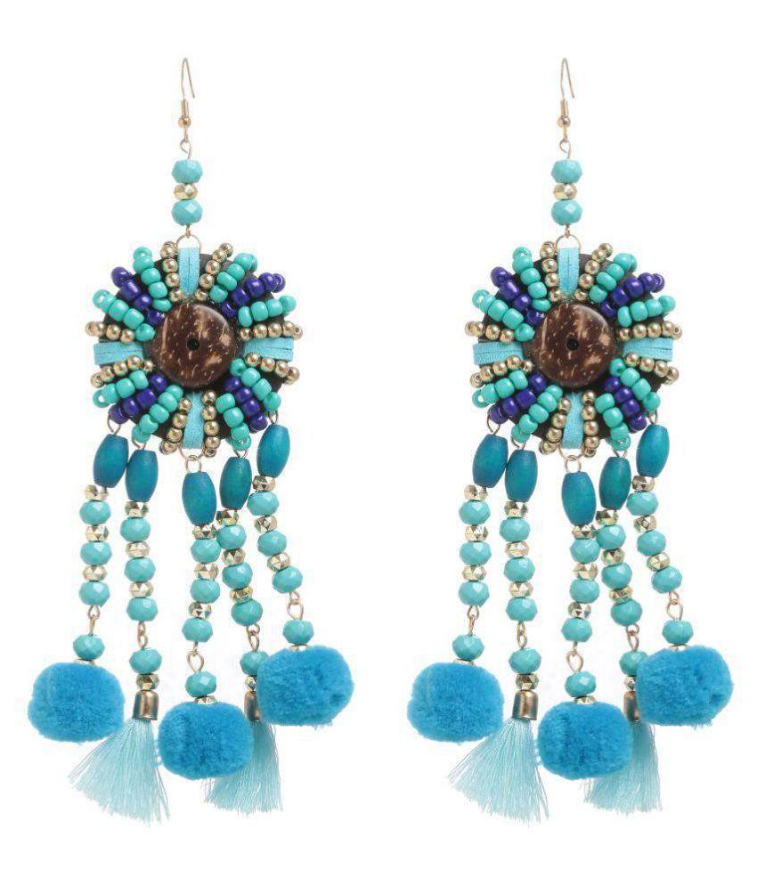 Chkokko Shining Fashion Jewellery Stylish Fancy Party Wear Traditional Earrings For Women & Girls