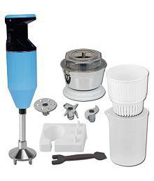 Xccess Metallic Light Blue 300 Watt Hand Blender