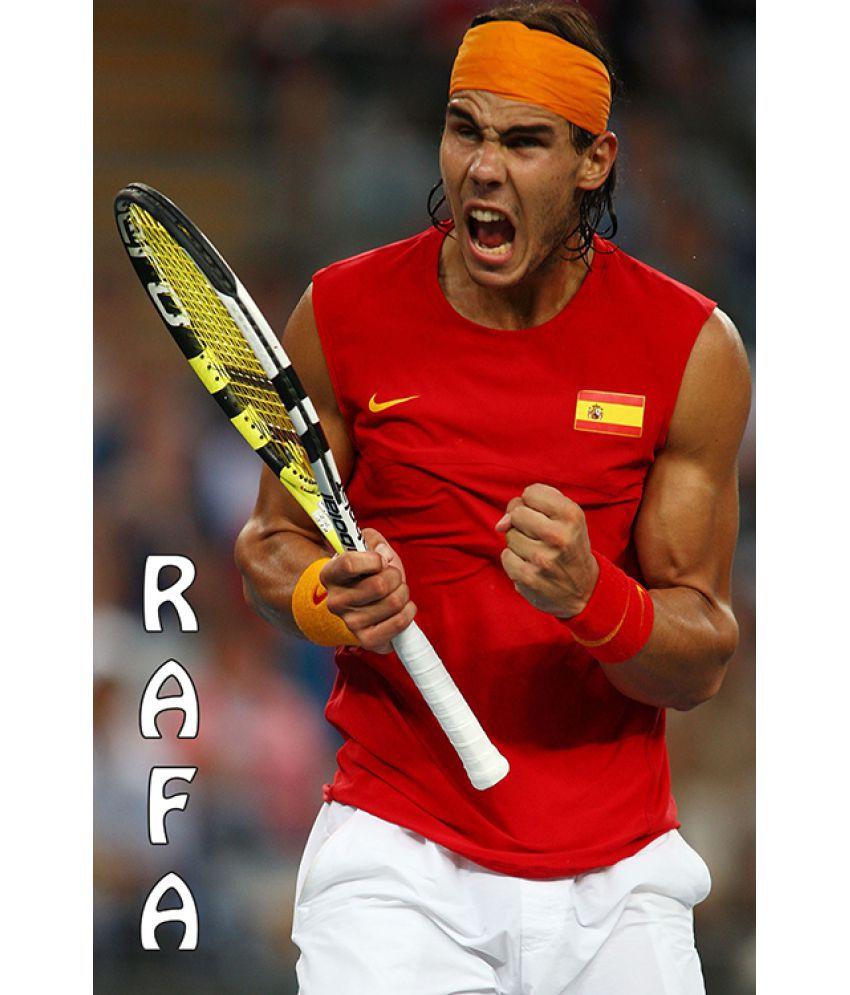 Mahalaxmi Art Craft Rafael Nadal 2 Canvas Wall Poster Without Frame Buy Mahalaxmi Art Craft Rafael Nadal 2 Canvas Wall Poster Without Frame At Best Price In India On Snapdeal