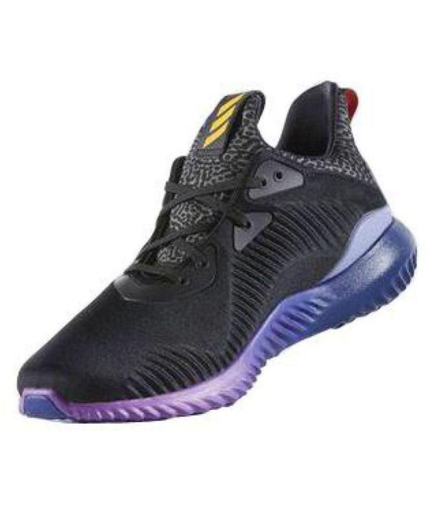 Adidas AlphaBounce negro corriendo zapatos comprar Adidas AlphaBounce