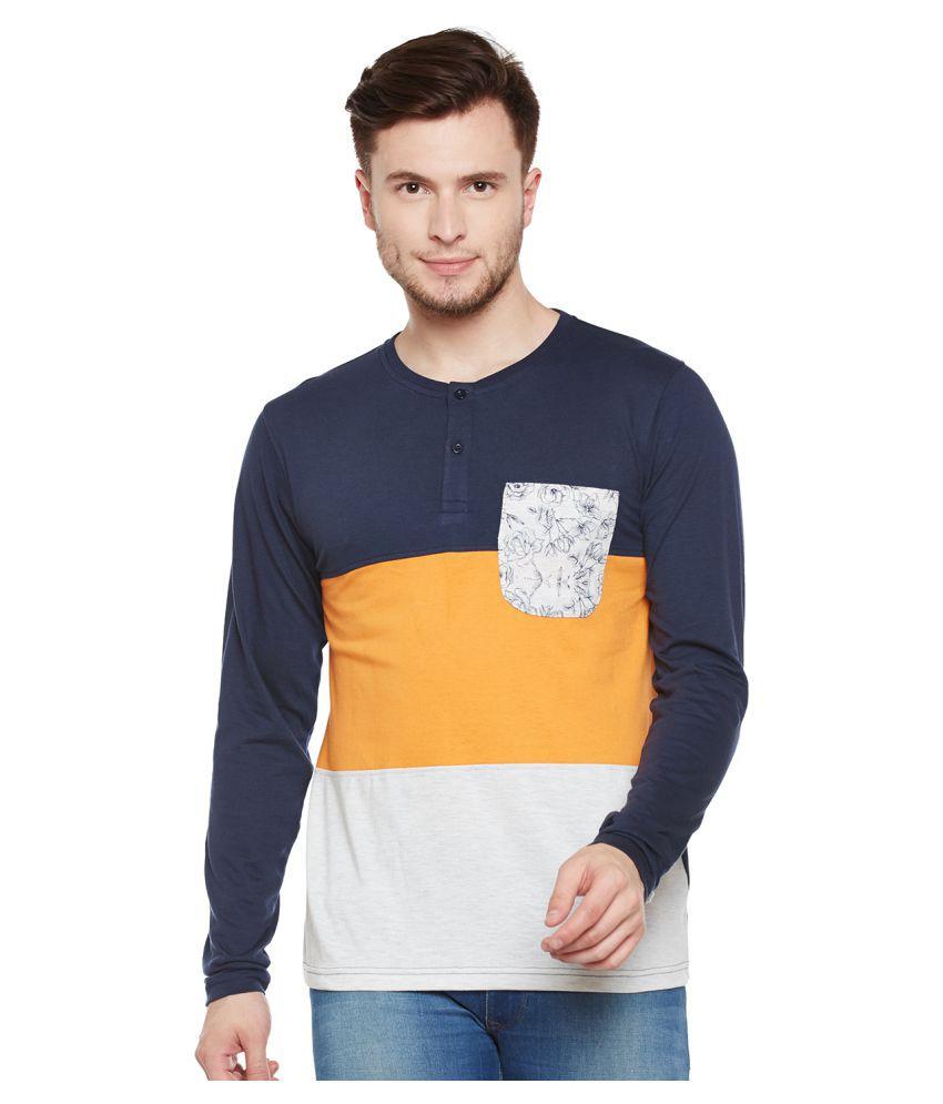 Club York Navy Round T-Shirt
