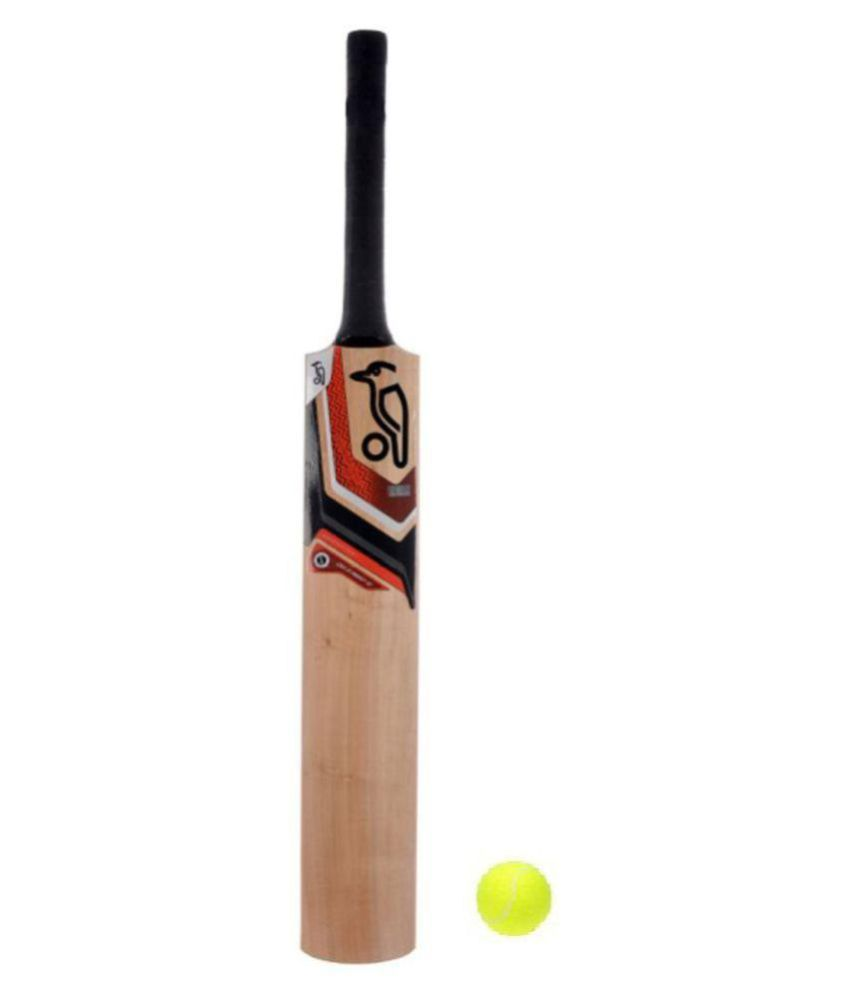 Tennis Cricket Bat with 1 ball size 3 for 7-9 years kids