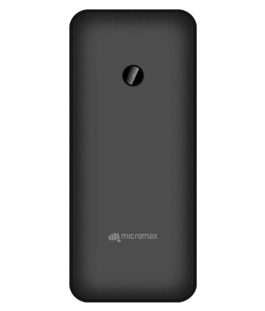 Micromax Bharat 1 (Black, 4G)