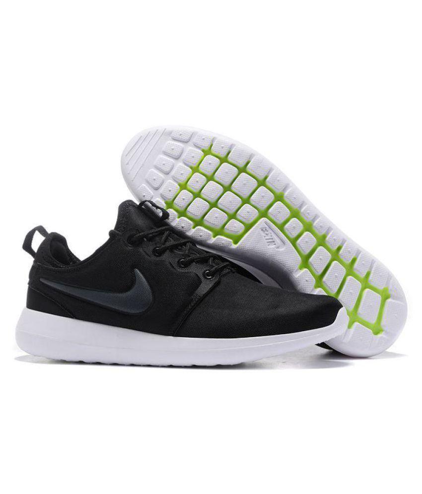 Nike Roshe Two Run Black Running Shoes