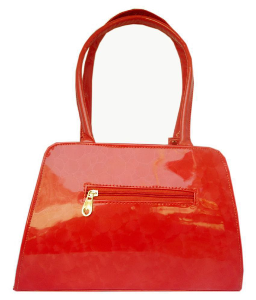 Guess Red P.U. Shoulder Bag - Buy Guess Red P.U. Shoulder Bag Online at  Best Prices in India on Snapdeal 86508157076e0