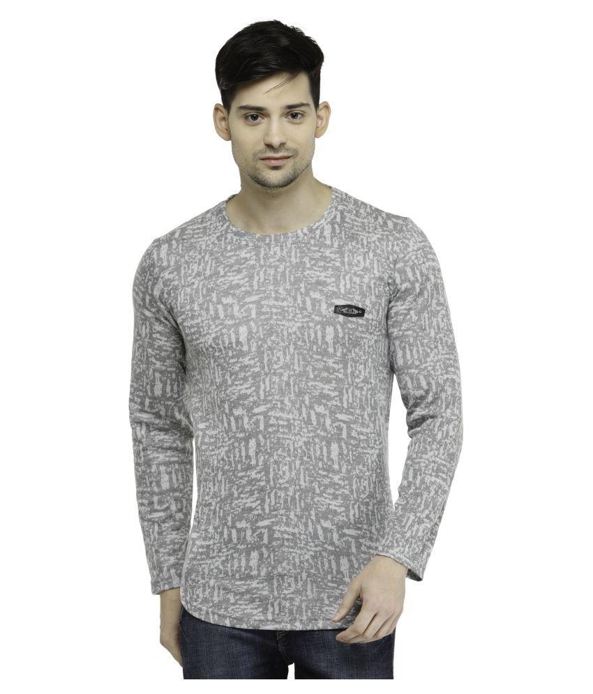 Harvest Grey Round T-Shirt