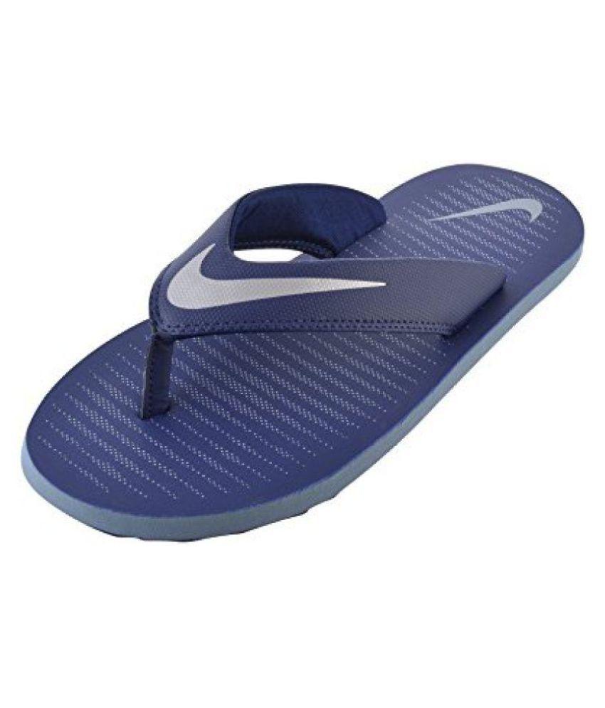Nike 1 CHROMA THONG 5 Blue Thong Flip Flop ...